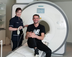 Patient Thomas Barr, Affidea Ambassador in Ireland